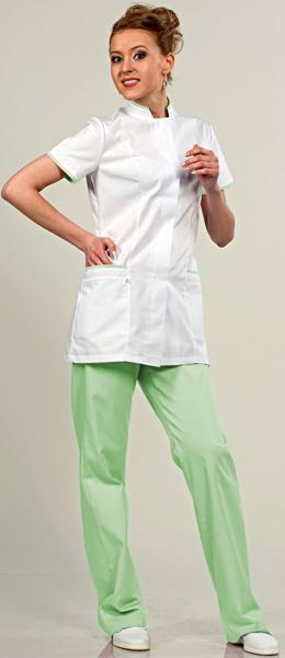 Медицинский костюм 811-420 застежка на пуговицы