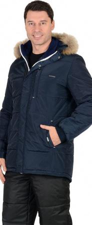 """Куртка """"ФОРВАРД"""" : зимняя, мужская, цв. т-синий. Уменьшенная фотография."""