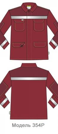 Куртка 354P FAS 83. Уменьшенная фотография.