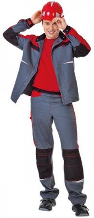 Рабочие брюки СПЕЦ Тамбой цвет серый. Уменьшенная фотография.