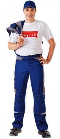 Брюки коллекции СПЕЦ Томбой цвет синий. Уменьшенная фотография.