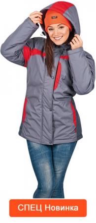 Куртка зимняя рабочая женская СПЕЦ новинки. Уменьшенная фотография.
