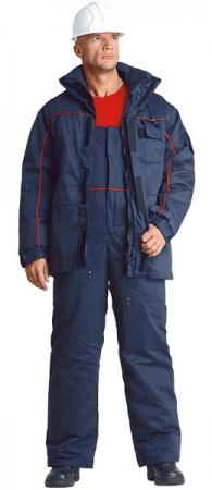 Зимний рабочий костюм №620 мужской. Уменьшенная фотография.
