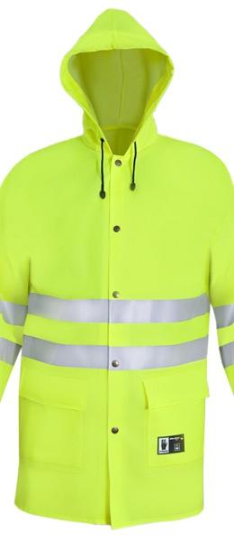 Желтая сигнальная куртка непромокаемая PROS-1101