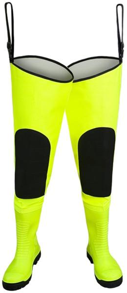 Купить Желтые флуоресцентные сапоги MAX S5 WRM02