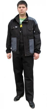 Летняя рабочая куртка для ИТР 472CY-90-56 . Уменьшенная фотография.