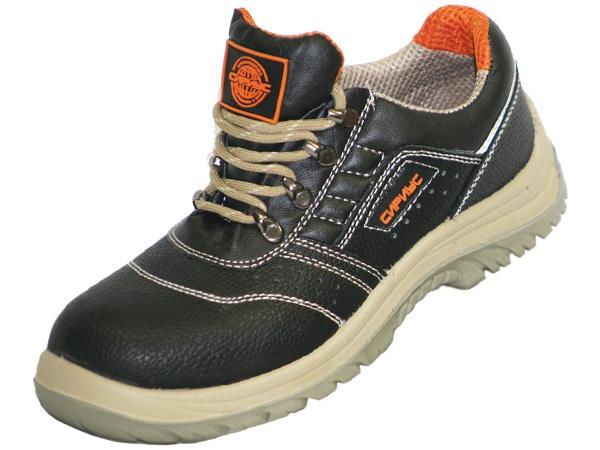 Купить Полуботинки Универсал черные обувная кожа