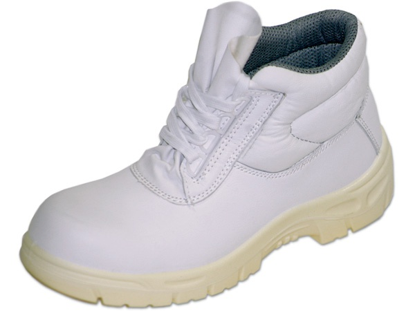 Купить Рабочие ботинки белые WS с защитным подноском